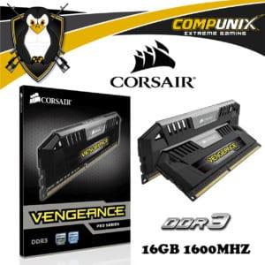MEMORIA RAM CORSAIR VENGEANCE PRO DDR3 16GB 1600MHZ