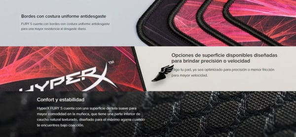 MOUSE PAD HYPERX FURY S PRO XL SPEED EDITION G