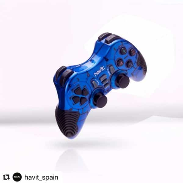 CONTROL GAMEPAD HAVIT HV-G85 AZUL D