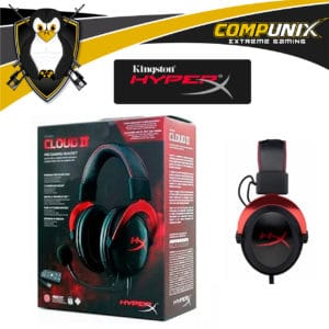 AUDIFONOS CON MICROFONO HYPERX CLOUD II 7.1 PRO GAMING