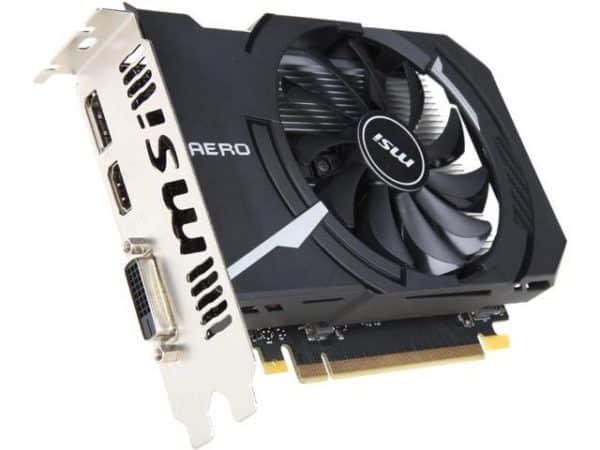 Tarjeta Video MSI Aero ITX GTX1050 2GB B