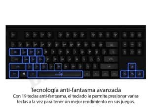 TECLADO GAMER GENIUS GX SCORPION K6 F