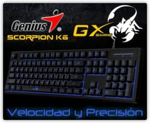 TECLADO GAMER GENIUS GX SCORPION K6 E