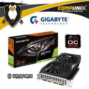 Tarjeta de Video GIGABYTE GTX1660 Ti 6GB