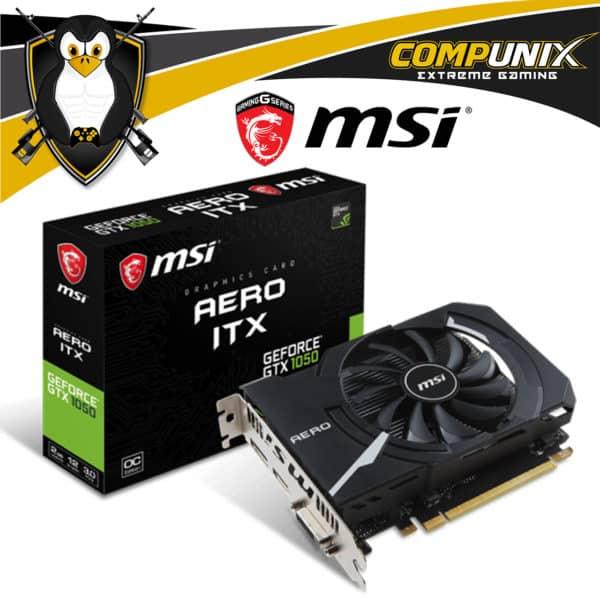 Tarjeta Video MSI Aero ITX GTX1050 2GB