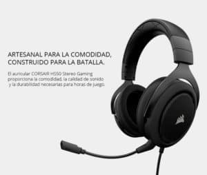 AUDIFONO GAMER CORSAIR HS50 ESTEREO G