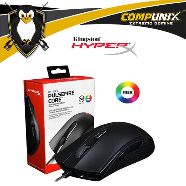 MOUSE GAMER HYPERX PULSEFIRE CORE