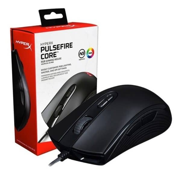 MOUSE GAMER HYPERX PULSEFIRE CORE A