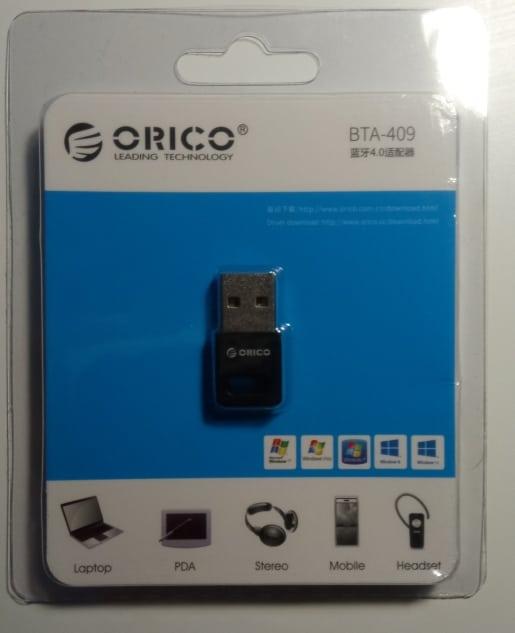 ADAPTADOR BLUETOOTH 4.0 ORICO BTA-409 USB D