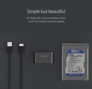 ADAPTADOR HDD SSD 2.5 ORICO SATA A USB 3.0 B