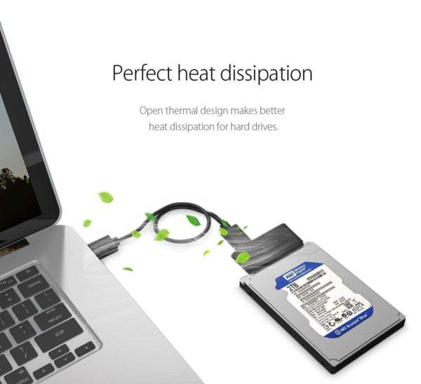 ADAPTADOR HDD SSD 2.5 ORICO SATA A USB 3.0 E