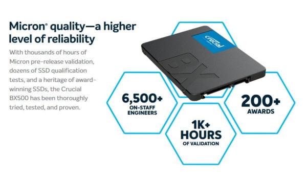 SSD CRUCIAL BX500 240GB F