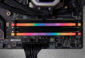 MEMORIA CORSAIR VENGEANCE RGB PRO DDR4 16GB 3200MHZ E