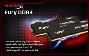 MEMORIA HYPERX DDR4 4GB 2666MHZ E