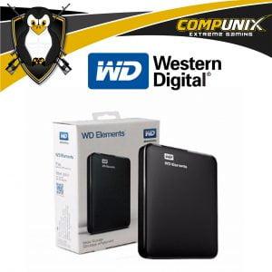 DISCO DURO EXTERNO WD ELEMENTS 1TB USB 3.0