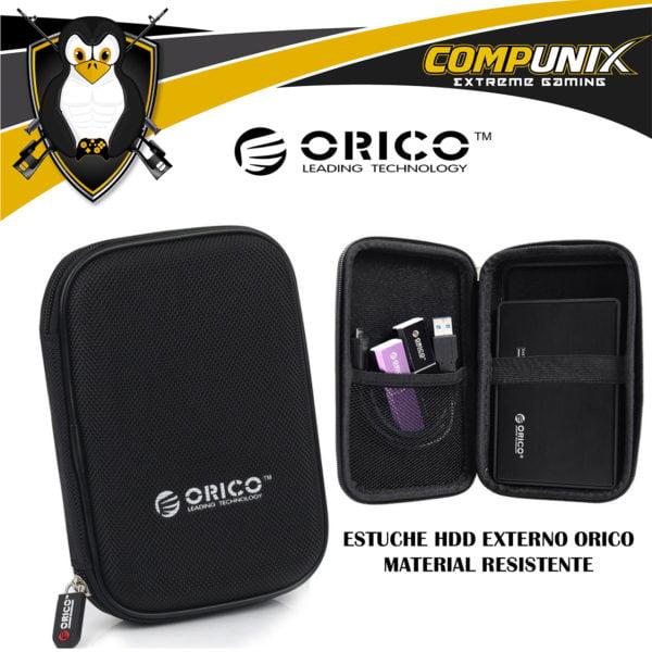 ESTUCHE HDD EXTERNO ORICO 2.5 PULGADAS