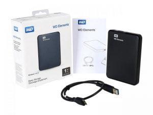 DISCO DURO EXTERNO WD ELEMENTS 1TB USB 3.0 F