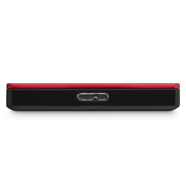 DISCO DURO EXTERNO SEAGATE BACKUP PLUS SLIM 1TB USB 3.0 ROJO E