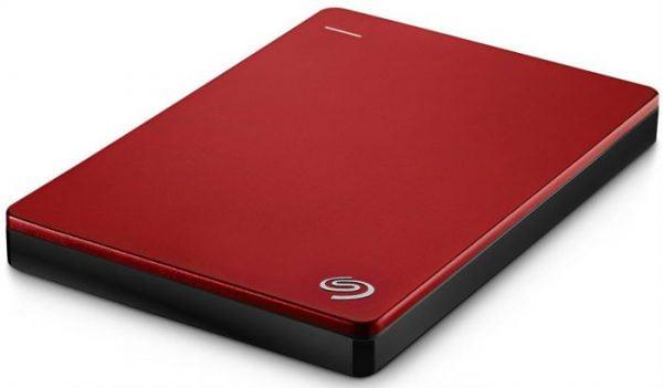 DISCO DURO EXTERNO SEAGATE BACKUP PLUS SLIM 1TB USB 3.0 ROJO D