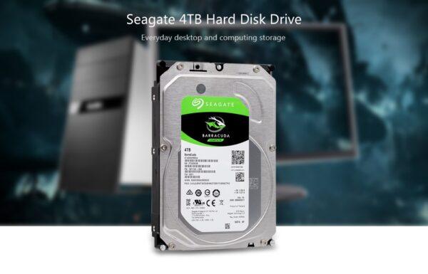 DISCO DURO SEAGATE BARRACUDA 4TB SATA 3.5 PC D