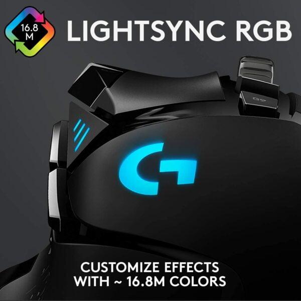 MOUSE GAMER LOGITECH G502 HERO BLACK F