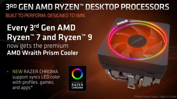 PROCESADOR AMD RYZEN 7 3700X AM4 E