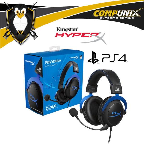 AUDIFONOS HYPERX CLOUD STEREO PS4