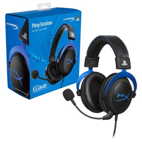 AUDIFONOS HYPERX CLOUD STEREO PS4 B