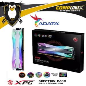MEMORIA RAM ADATA XPG SPECTRIX-D60G 16GB 3200MHZ