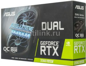 VIDEO ASUS DUAL RTX2060 SUPER 8GB OC B