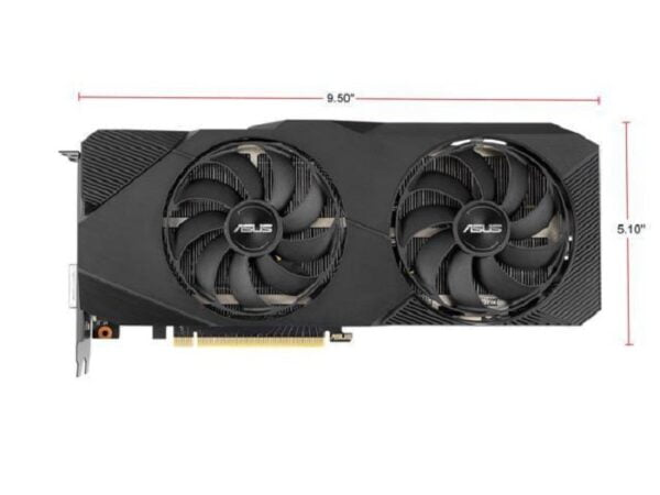 VIDEO ASUS DUAL RTX2060 SUPER 8GB OC E