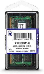 MEMORIA RAM KINGSTON LAPTOP 8GB DDR3L 1600mhz A