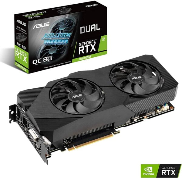 VIDEO ASUS DUAL RTX2060 SUPER 8GB OC A