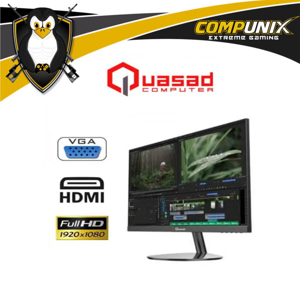 MONITOR QUASAD 20 PULG QM-S20 FULL HD 1920X1080