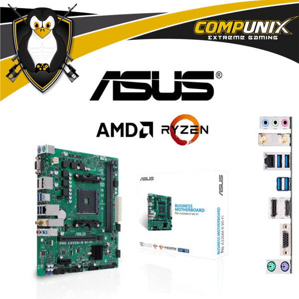 MOTHERBOARD ASUS PRO A320MR WIFI
