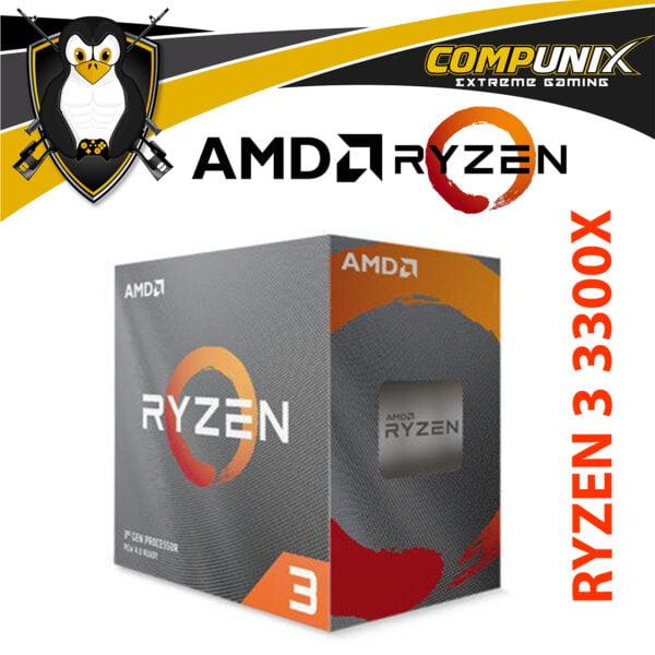 PROCESADOR AMD RYZEN 3 3300X 3.8GHZ