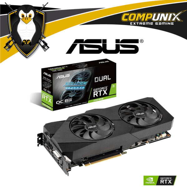 VIDEO ASUS DUAL RTX2060 SUPER 8GB OC