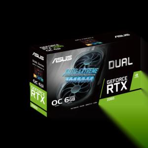 VIDEO ASUS DUAL RTX2060 EVO 6GB B