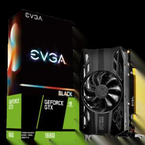 TARJETA DE VIDEO EVGA BLACK GTX1660 6GB A