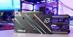 TARJETA DE VIDEO ASROCK Radeon RX 5600 XT PHANTOM GAMING D3 6G OC G