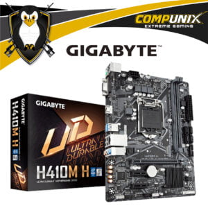 MOTHERBOARD GIGABYTE H410M-H DDR4