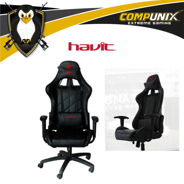 SILLA GAMER HAVIT HV-GC922 NEGRA