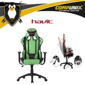 SILLA GAMER HAVIT HV-GC922G VERDE