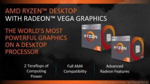 PROCESADOR APU AMD RYZEN 5 3400G 3.7GHZ D