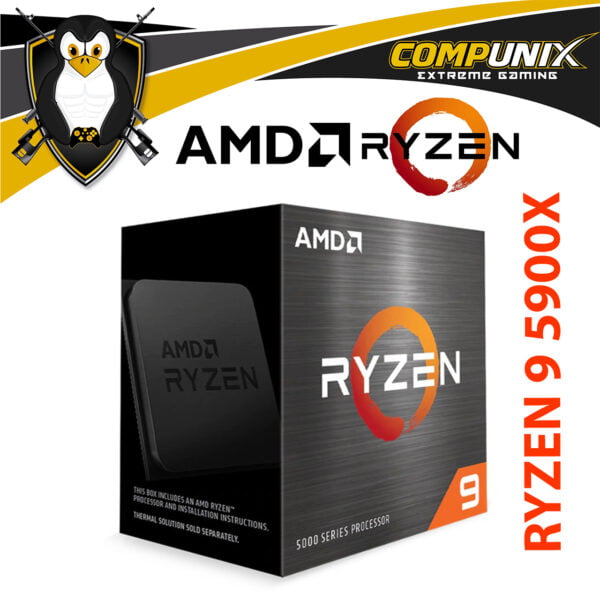 PROCESADOR AMD RYZEN 9 5900X 4.8GHZ