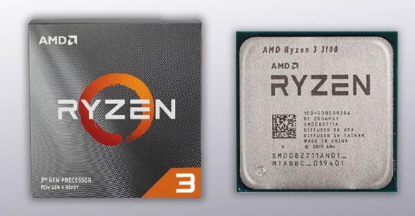 PROCESADOR AMD RYZEN 3 3100 3.9GHZ 4 CORES C