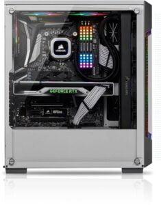 CASE CORSAIR ICCUE 220T RGB AIRFLOW BLANCO F