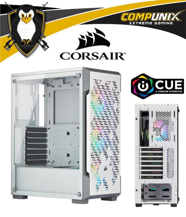 CASE CORSAIR ICCUE 220T RGB AIRFLOW BLANCO