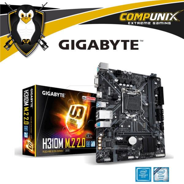 MOTHERBOARD GIGABYTE H310M M.2 2.0 DDR4