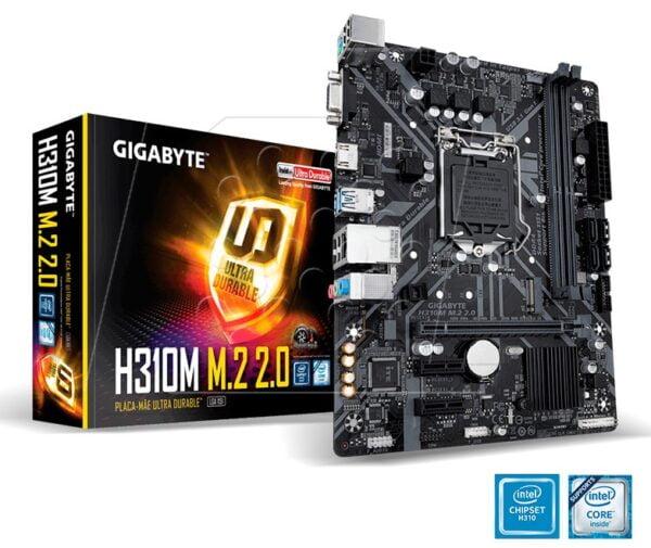 MOTHERBOARD GIGABYTE H310M M.2 2.0 DDR4 A